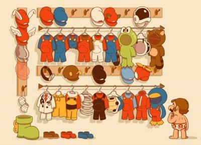 Marios wardrobe