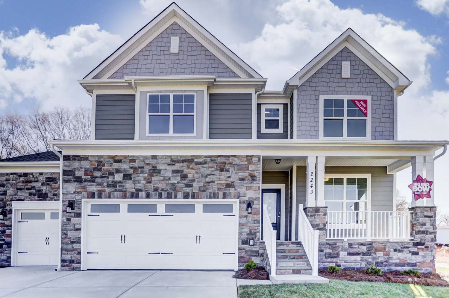 Eastwood Homes has move-in ready homes available