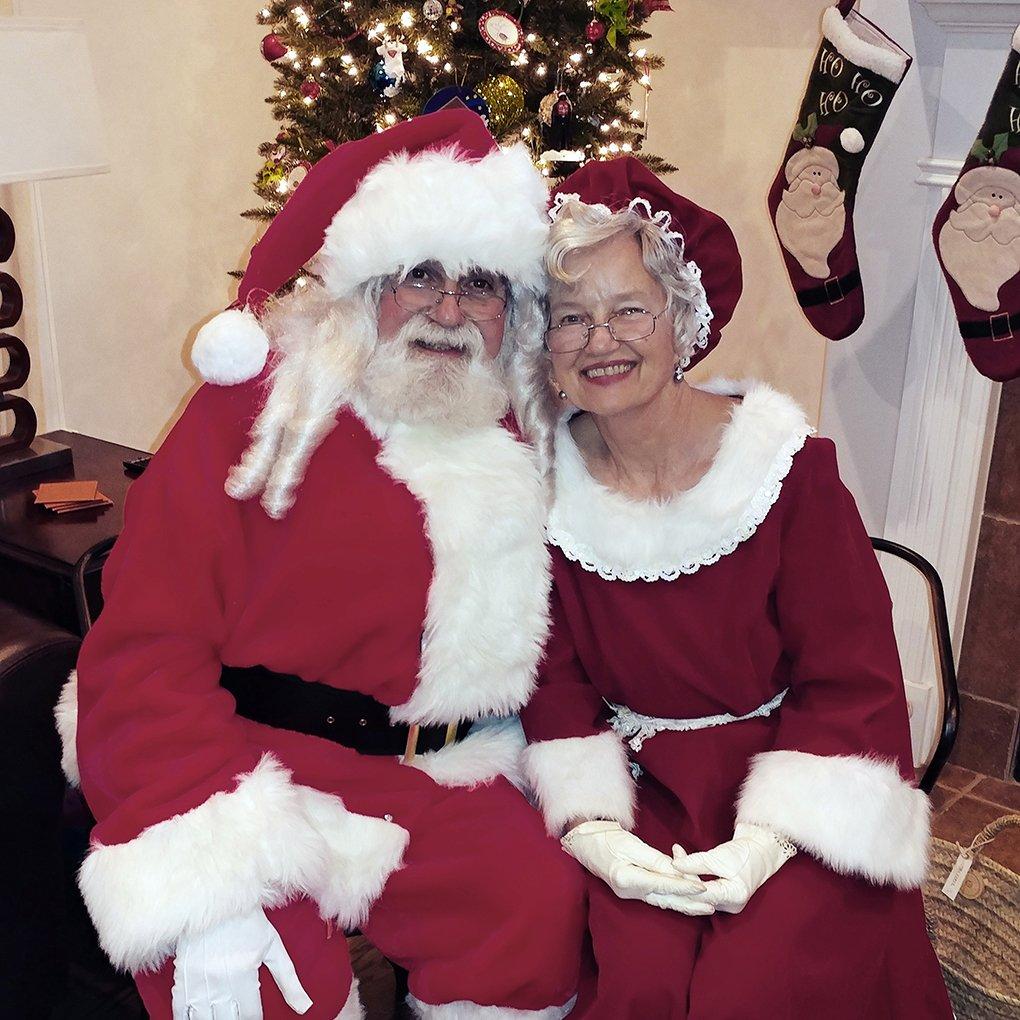 Santa and Mrs Santa