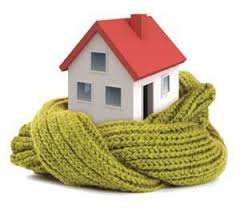 Home wrapped in a scarf