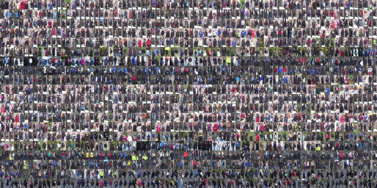 A collection of 1,600 out of the approximately 2,000 students and pedestrians in the Duke MTMC dataset. These students were also included in the Duke MTMC Re-ID dataset extension used for person re-identification, and eventually the QMUL SurvFace face recognition dataset. Open Data Commons Attribution License.