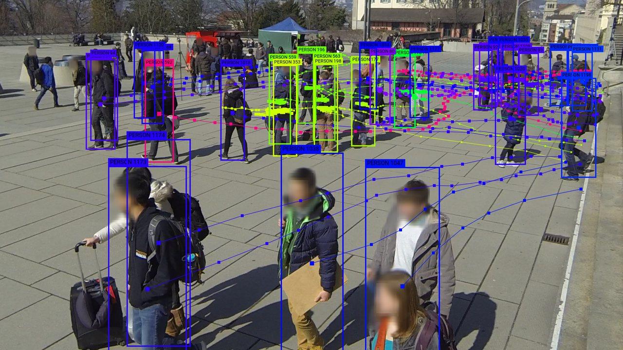 WILDTRACK camera 1. Original image from WILDTRACK dataset by Chavdarova et al. (2017). Data visualization by Adam Harvey / megapixels.cc (2020)