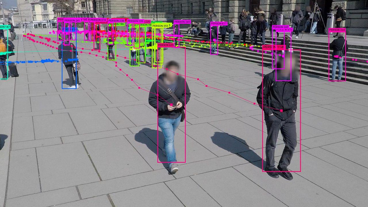 WILDTRACK camera 6. Original image from WILDTRACK dataset by Chavdarova et al. (2017). Data visualization by Adam Harvey / megapixels.cc (2020)