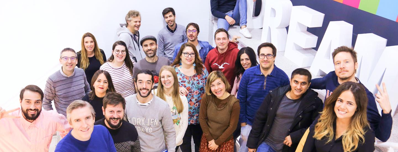 frog design team in Madrid, Spain