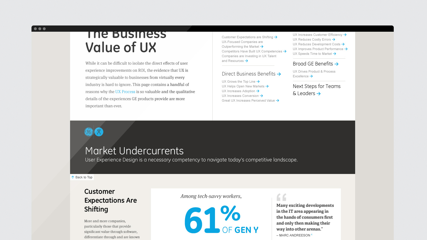 UX Center of Excellence Brings Differentiation by Design