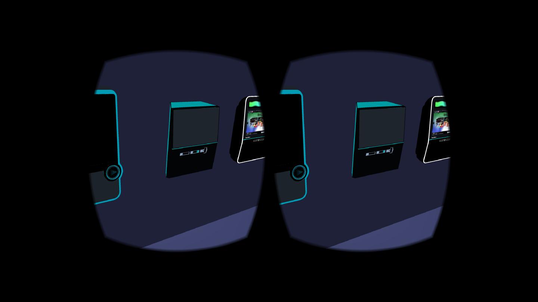 New digital jukebox design in VR