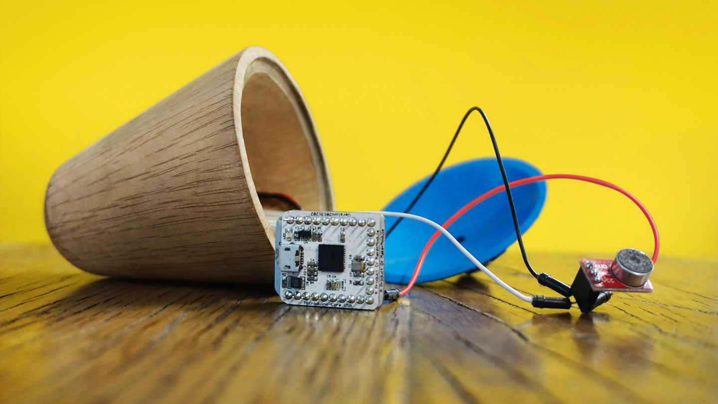 Yibu wooden toy with electronic sensors for an immersive indoor play experience