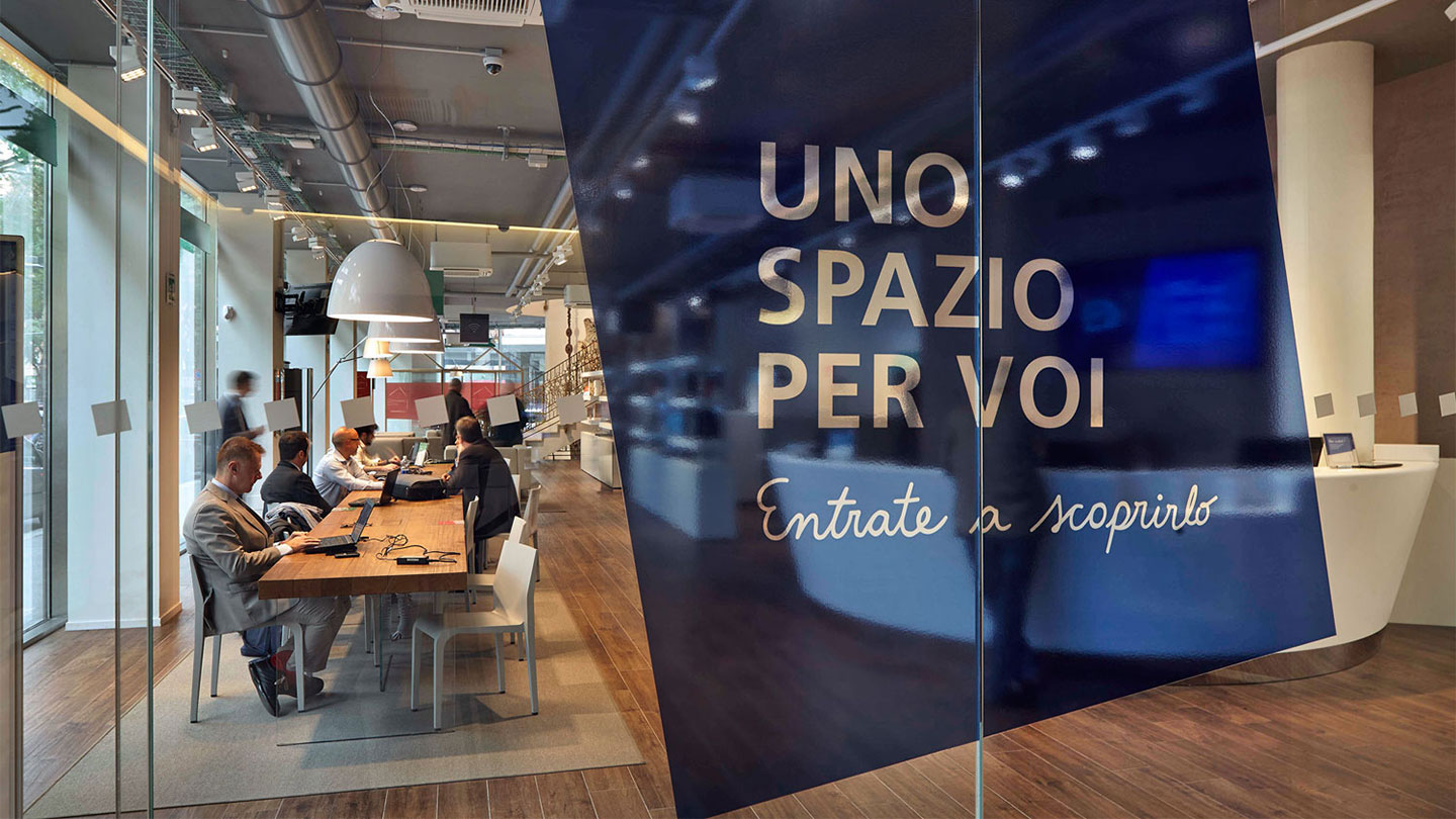 Spazio Italiano San Francisco transforming the banking experience | frog design case study