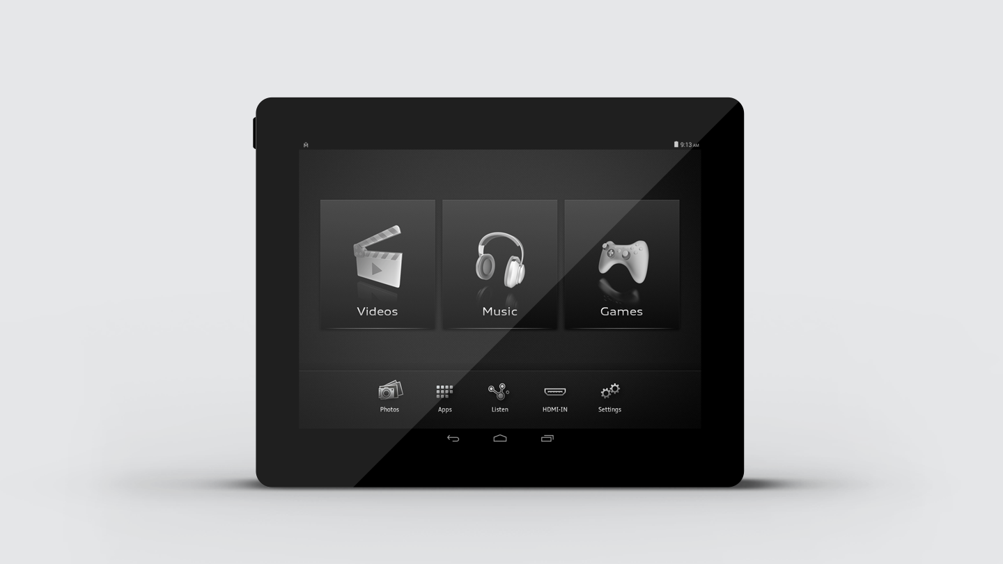 The multipurpose AEm tablet with easy-to-use interface design