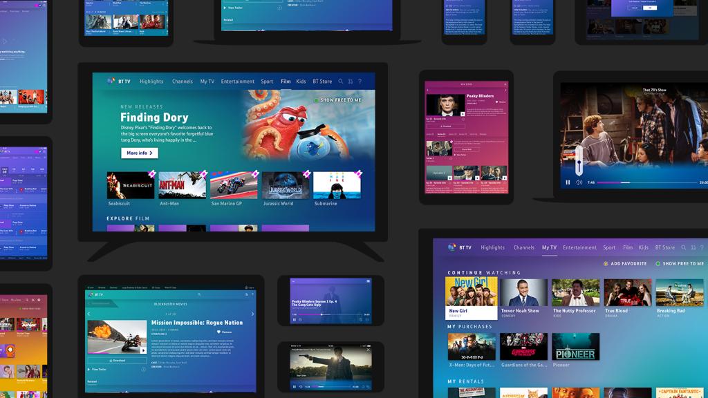 Designing a Next Generation Experience - BT TV