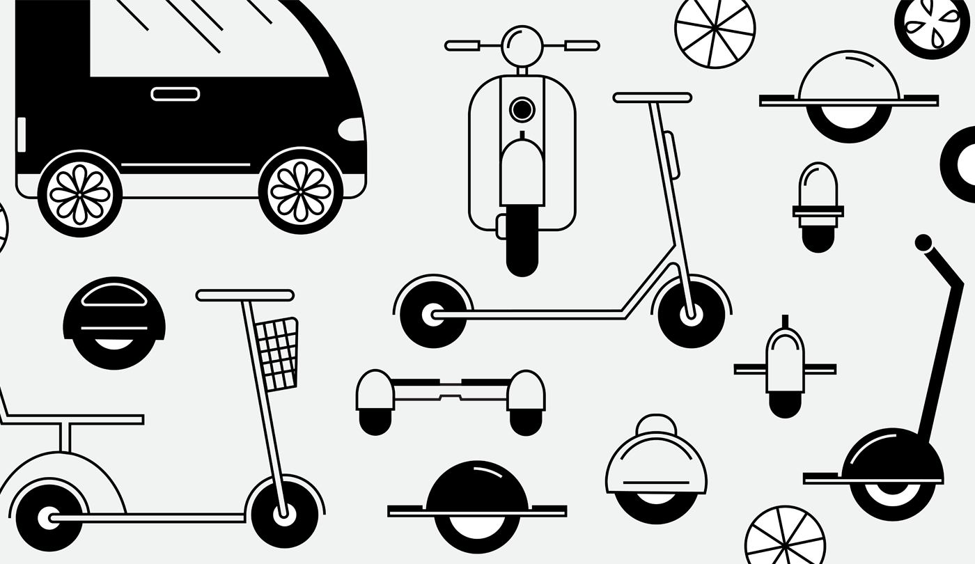 future of mobility: from traditional scooters to hoverboards, ebikes, segways and beyond