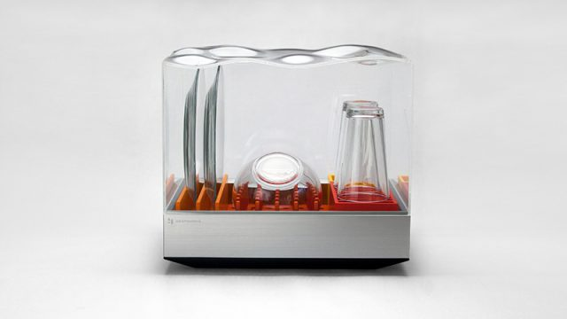 Tetra Dishwasher Heats Up CES-Tetra