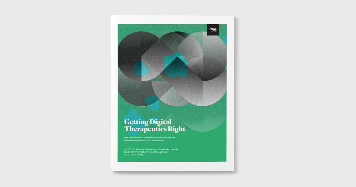 Getting Digital Therapeutics Right Insight Report cover