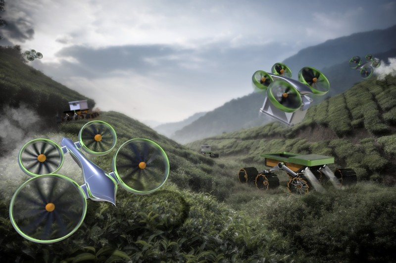 Hummingbird and Beetle – Autonomously farming where previously impossible