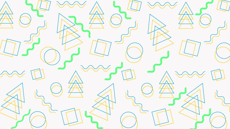 Shapes greenblue