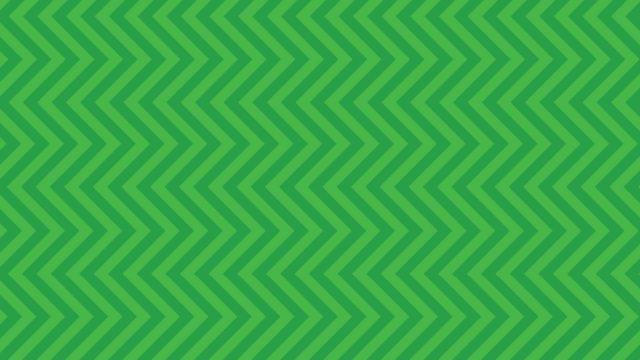 green zigzag