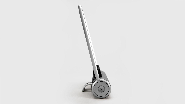 Sound Cylinder, bluetooth speaker tailored for tablets, design