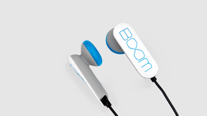 Sound United Boom earphones design