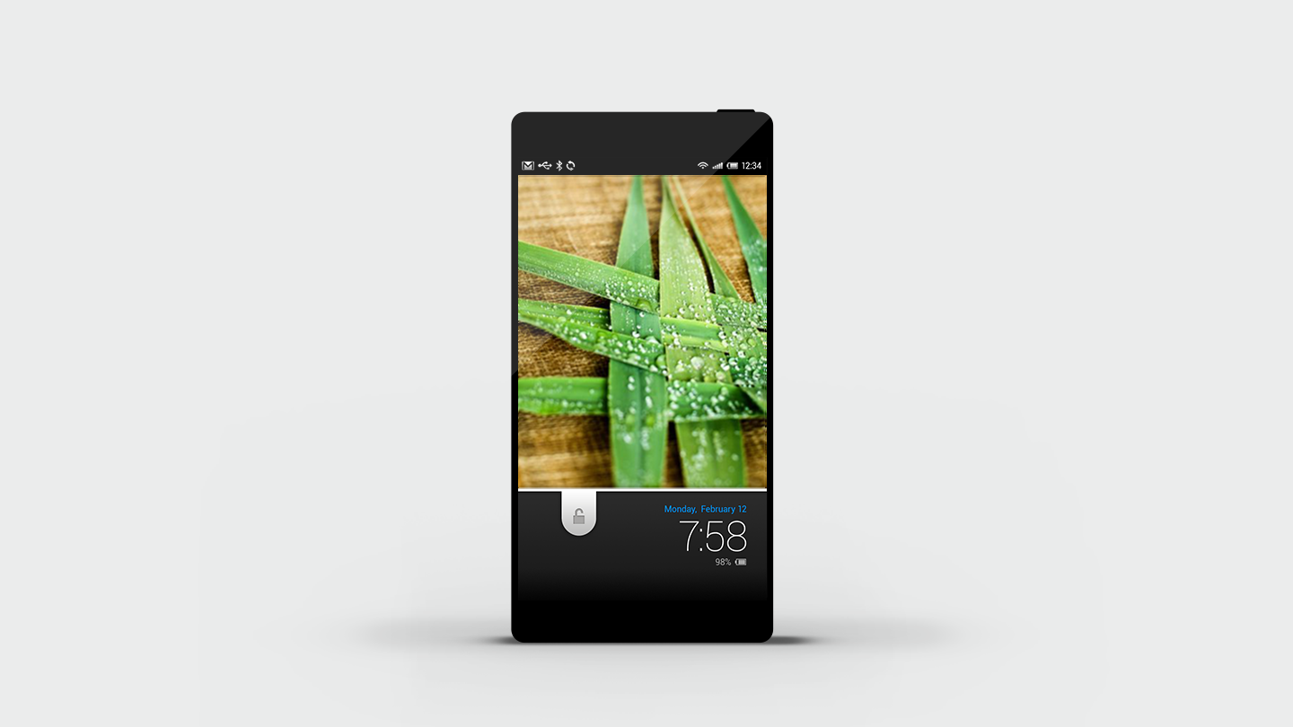 Sharp_Aquos mobile UX