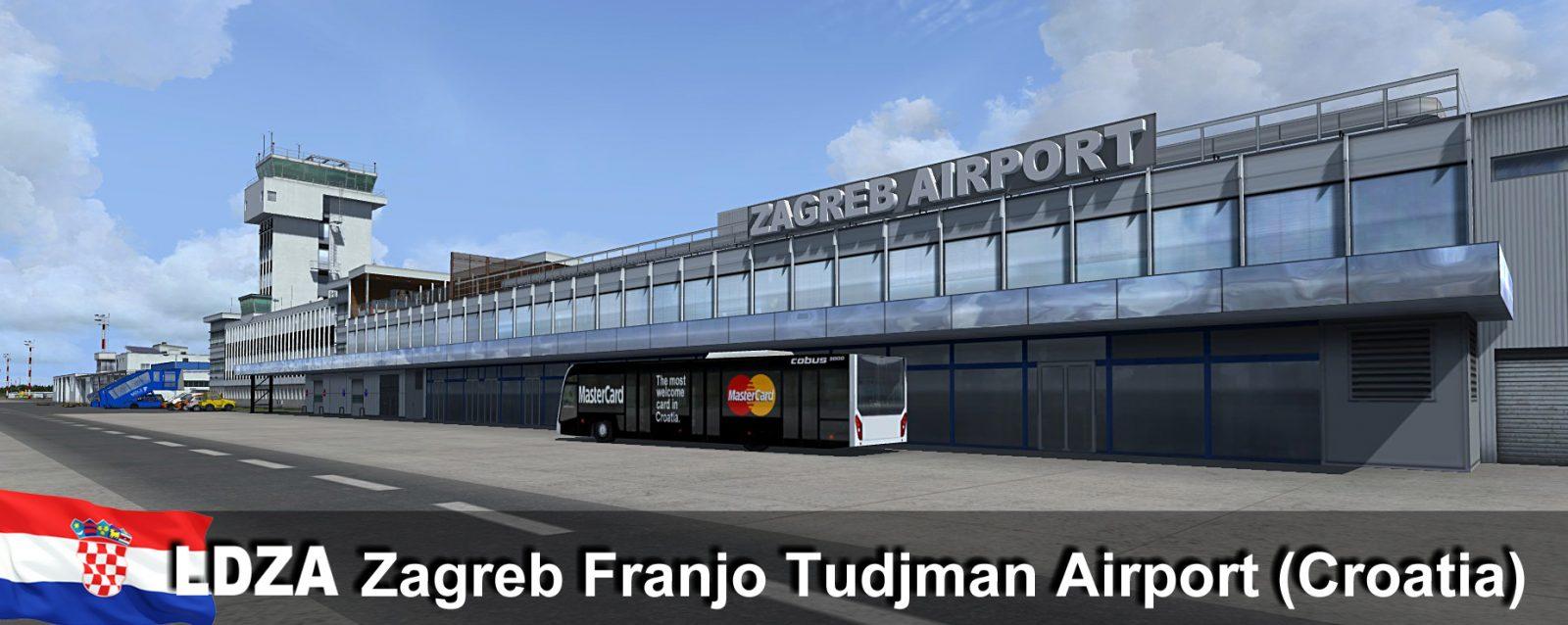 Rfscenerybuilding Zagreb Airport Ldza Released Fselite