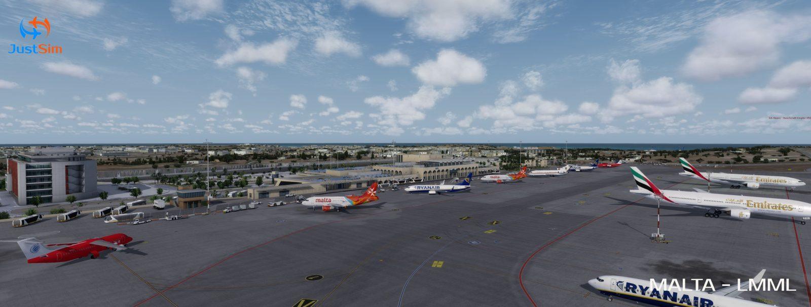 JustSim Malta Intl  Airport (LMML) Released – FSElite