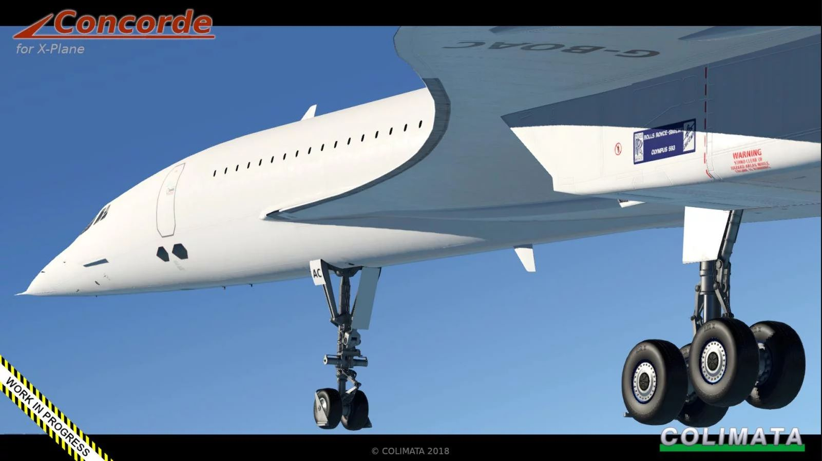 x-plane] Colimata Announces Early Access of Concorde on X