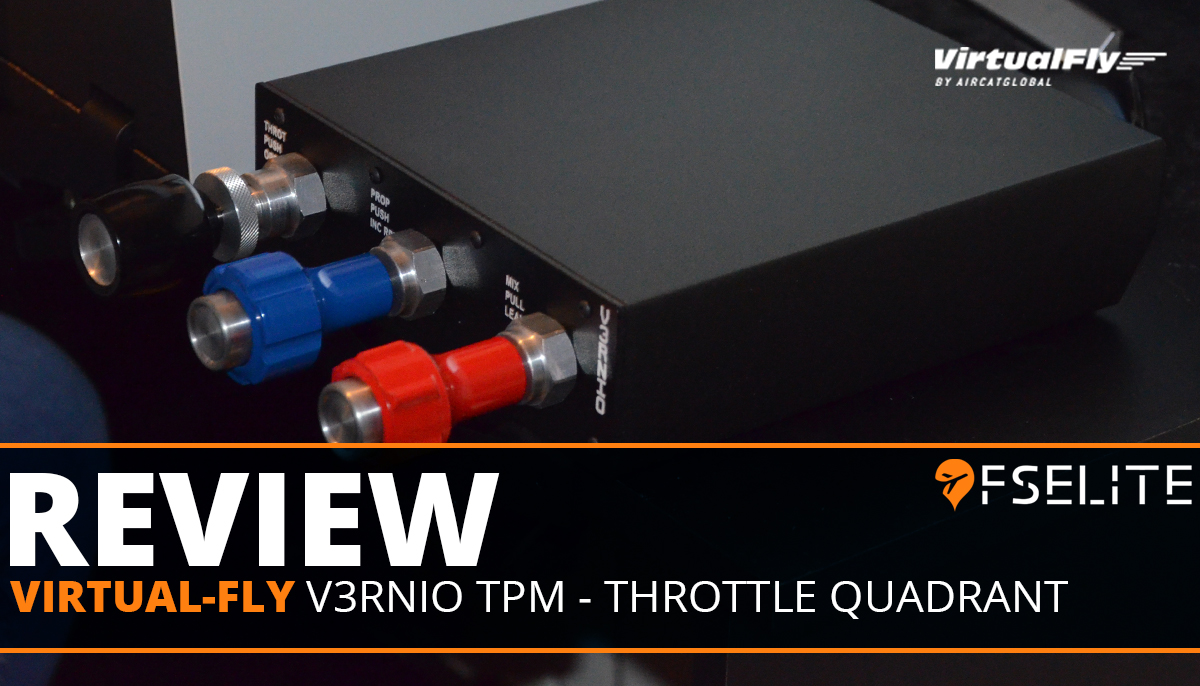 VIRTUAL FLY V3RINO TPM THROTTLE Set Featured Review
