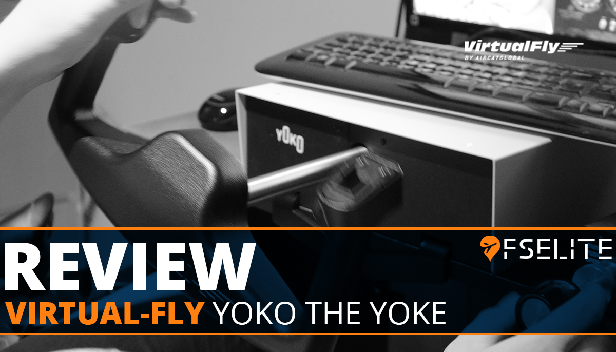 VIRTUAL FLY YOKO THE YOKE Featured Review