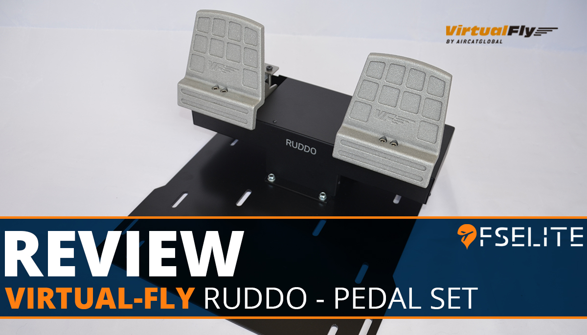 VIRTUAL FLY Ruddo Pedal Set Featured Review