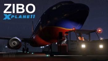 X Plane 11 First Departure With Zibo Mod 737 800X