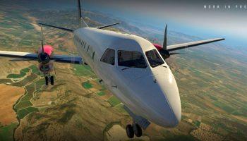 Carenado S340 X Plane 4