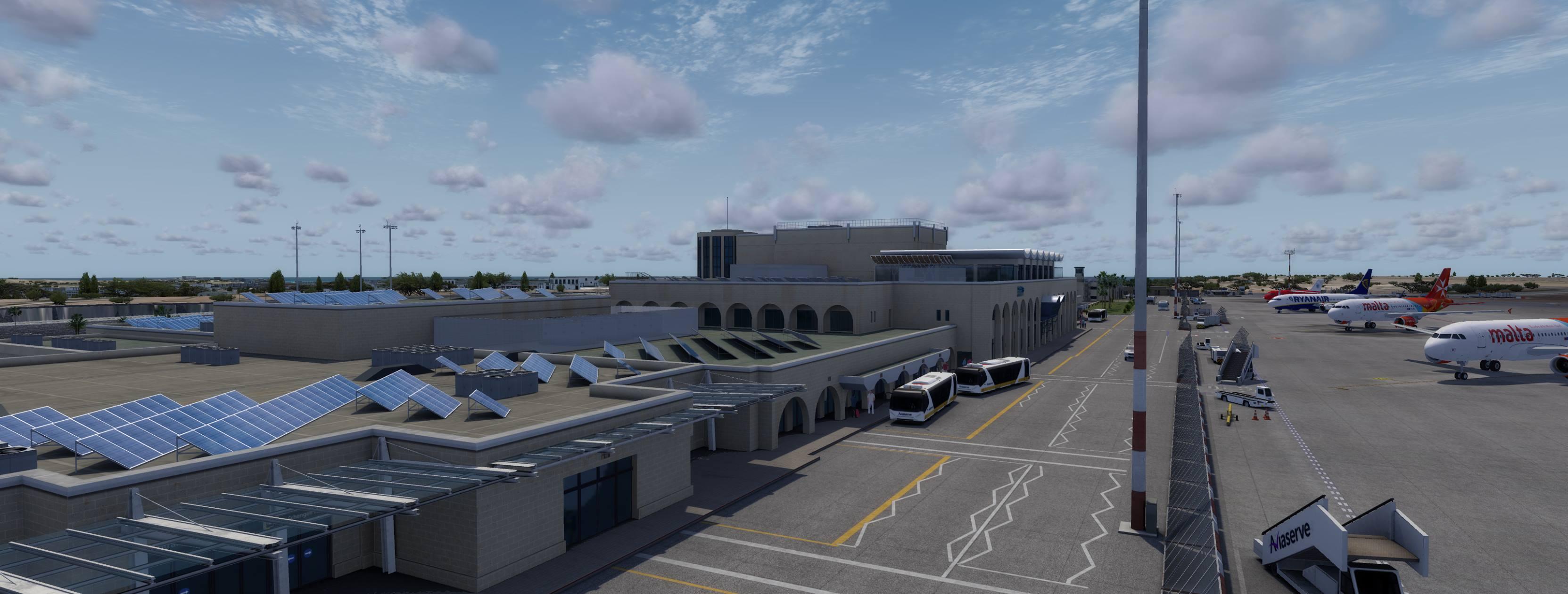Justsim Malta Airport 6