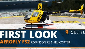 Aerofly FS 2 Robinson R22 Helicopter The FSElite First Look
