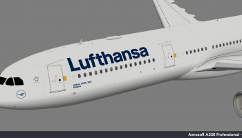 Aerosoft A330 Professional Lufthansa FSElite2