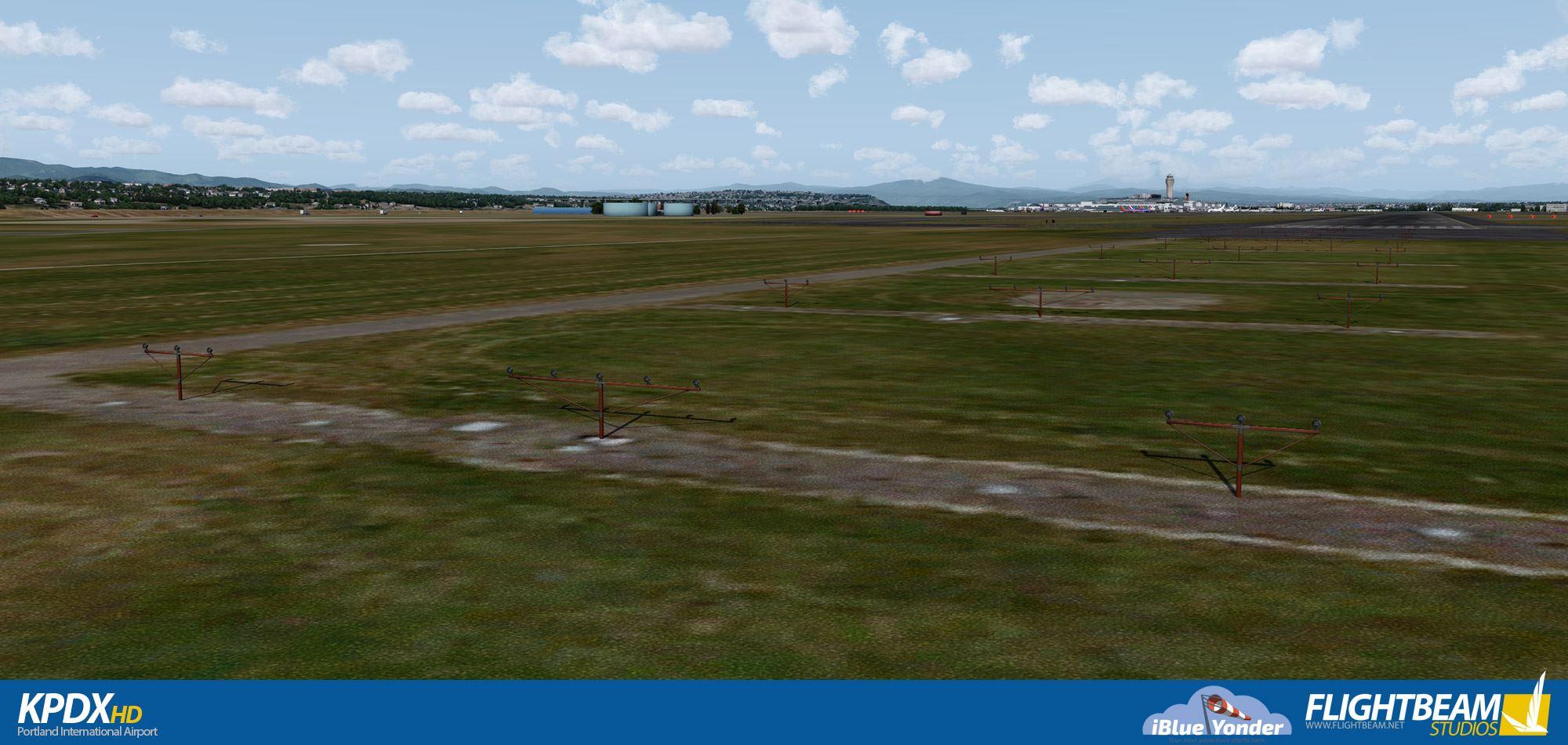 Flightbeam IBlueYonder KPDX Portland Updated To V1.3 FSElite