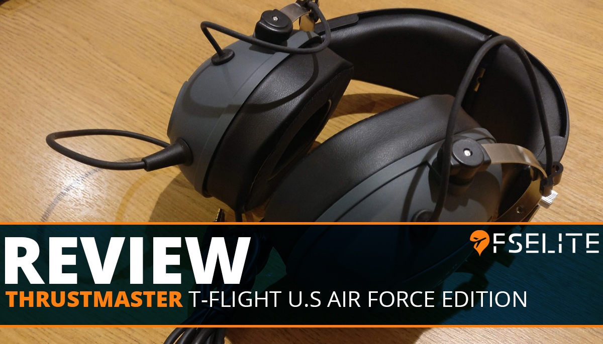 THRUSTMASTER T Flight Us Air Force Edition