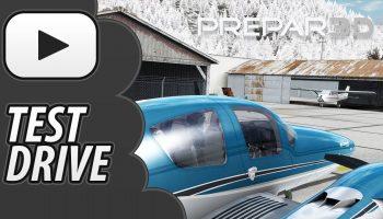 Vertx Diamond DA62 Prepar3D Test Drive
