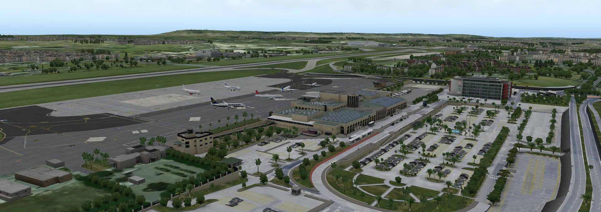 Previews of JustSim's Malta Airport (LMML) for X-Plane 11 – FSElite