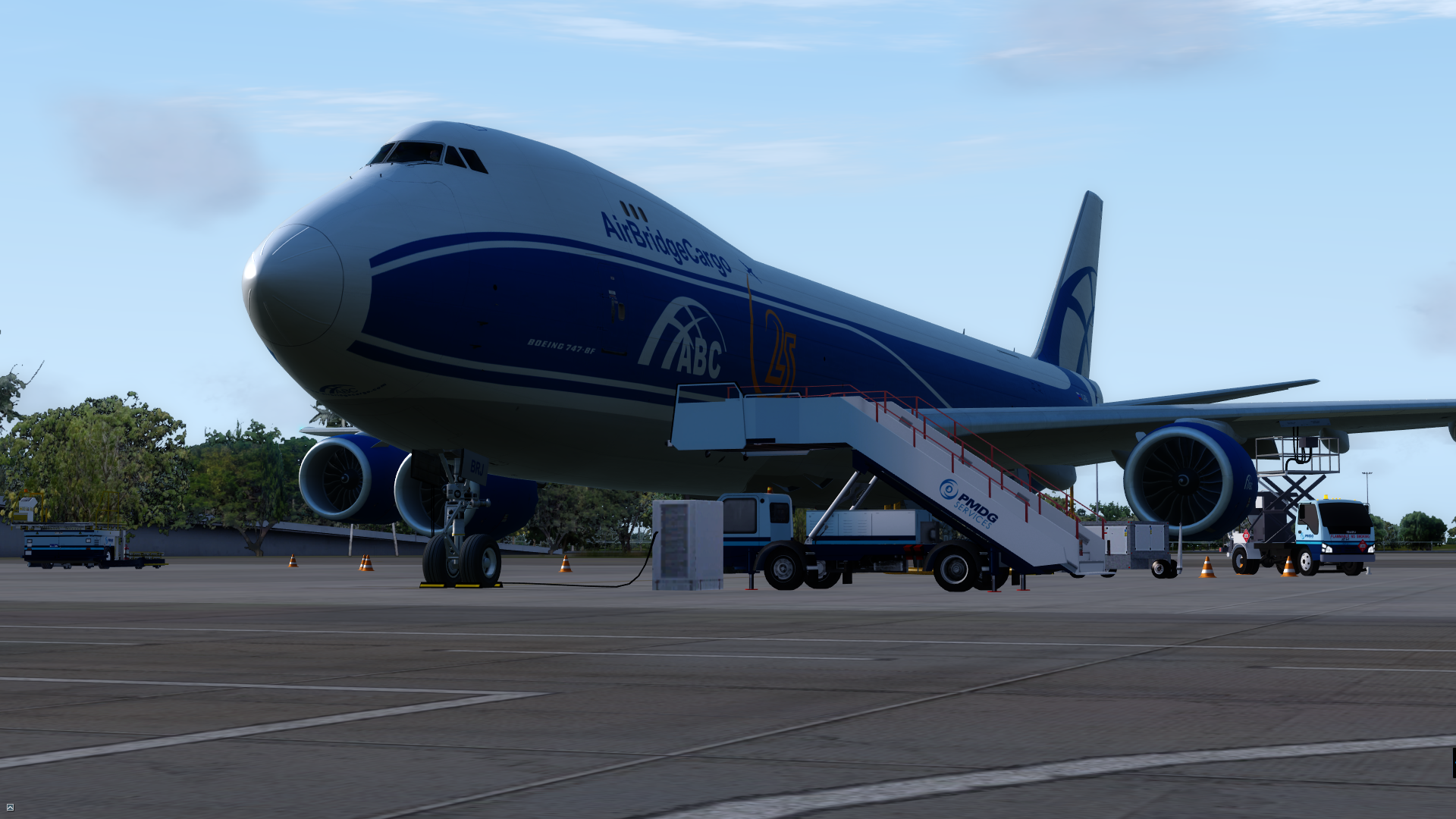 prepar3d / fsx] PMDG Release the 747-400/8 QOTSII Update - ON