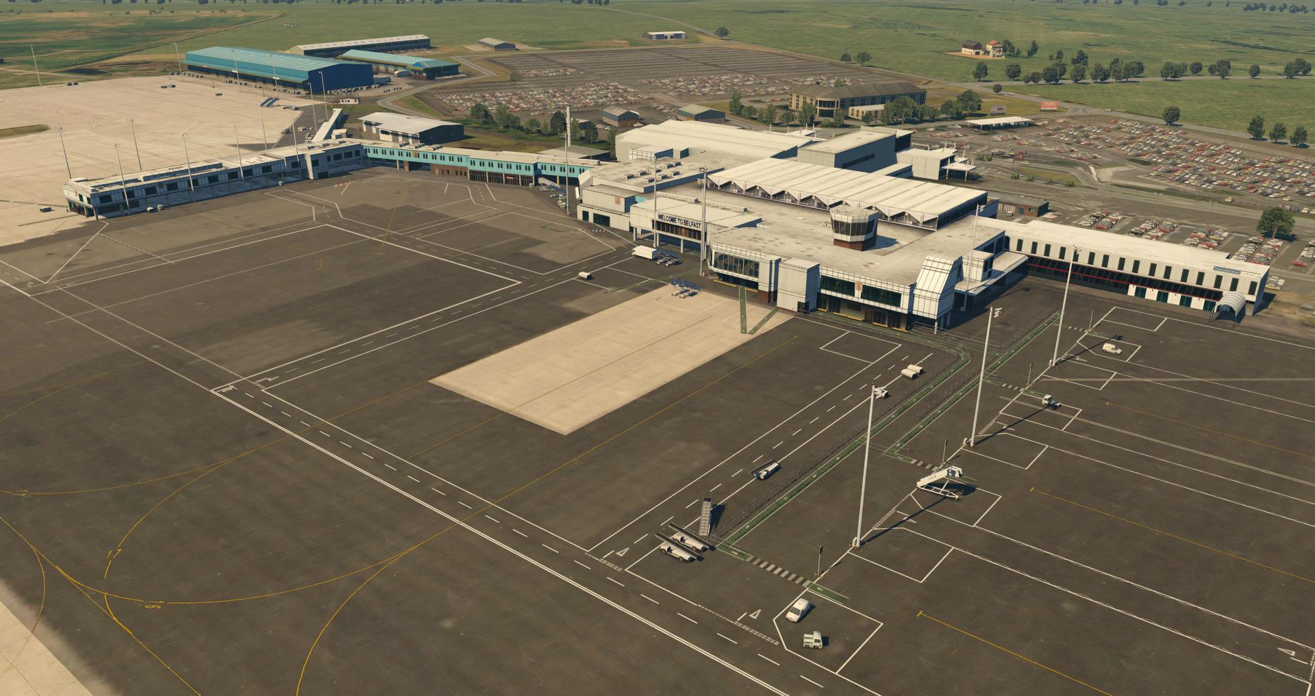 UK2000 Scenery Belfast Intl  Xtreme for X-Plane 11 Released