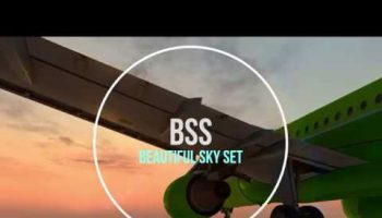 BSS Beautiful Sky Set For Microsoft Flight Simulator X P3D V3 P3Dv4