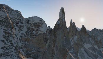 Cerro Torre And Fitz Roy In X Plane 11