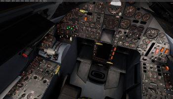 Milviz Preview SR 71 Cockpit FSElite