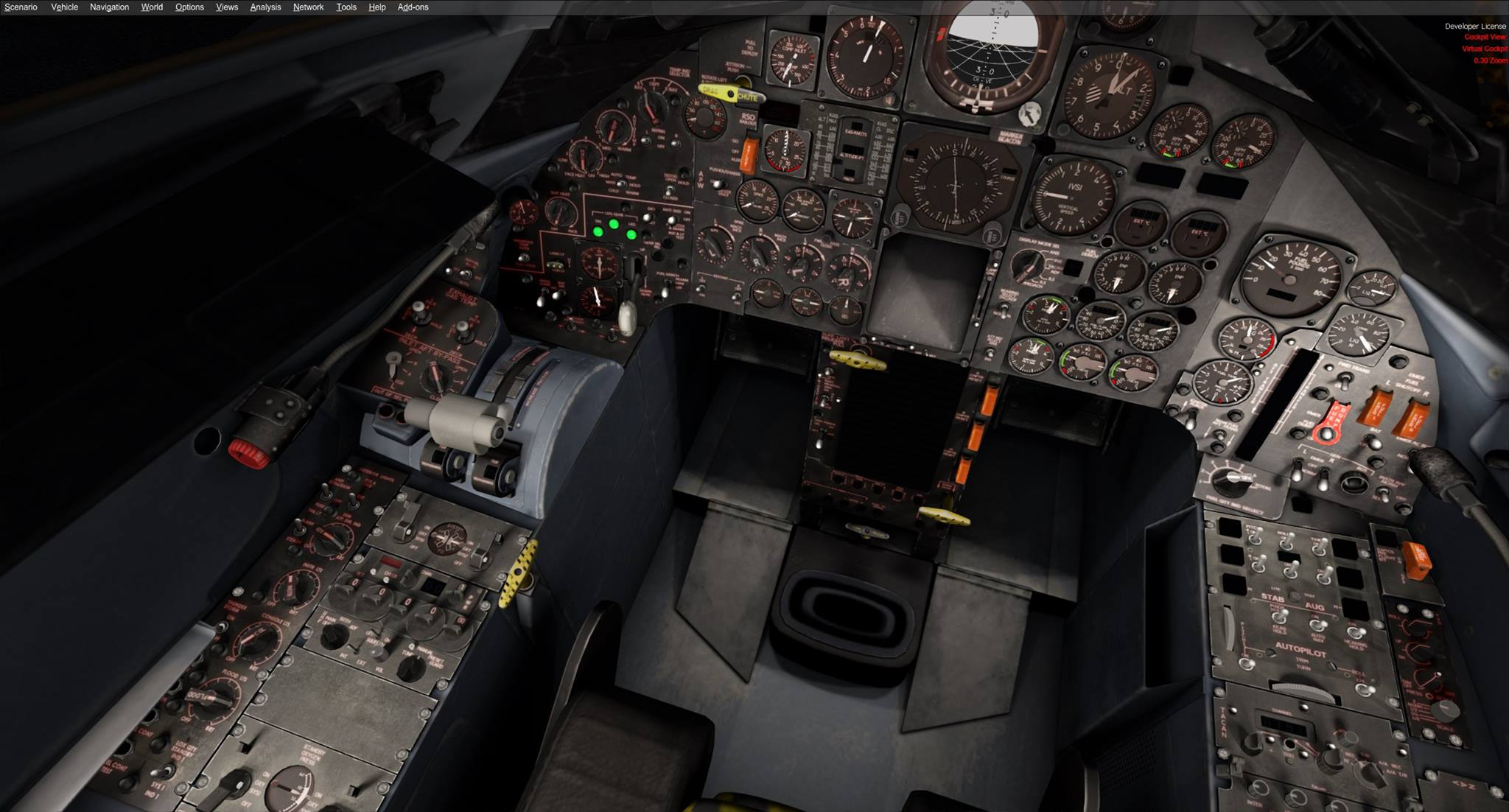 Milviz Preview SR 71 Cockpit FSElite