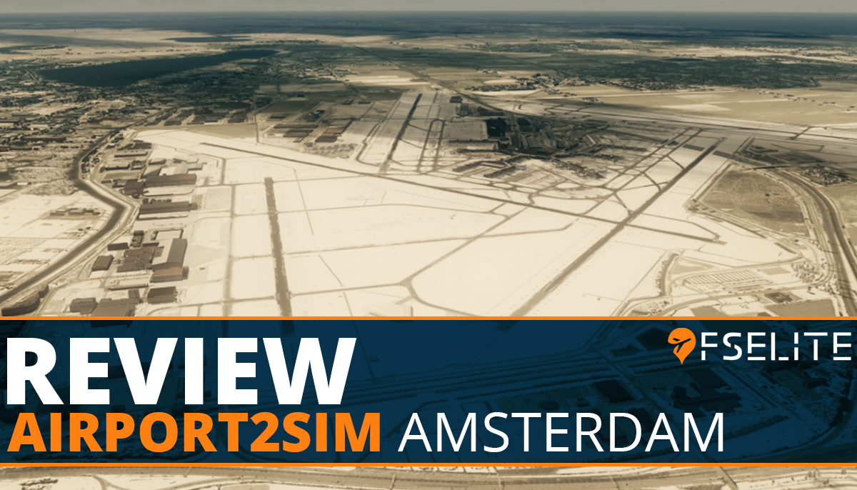 Airport2sim Amsterdam Featured