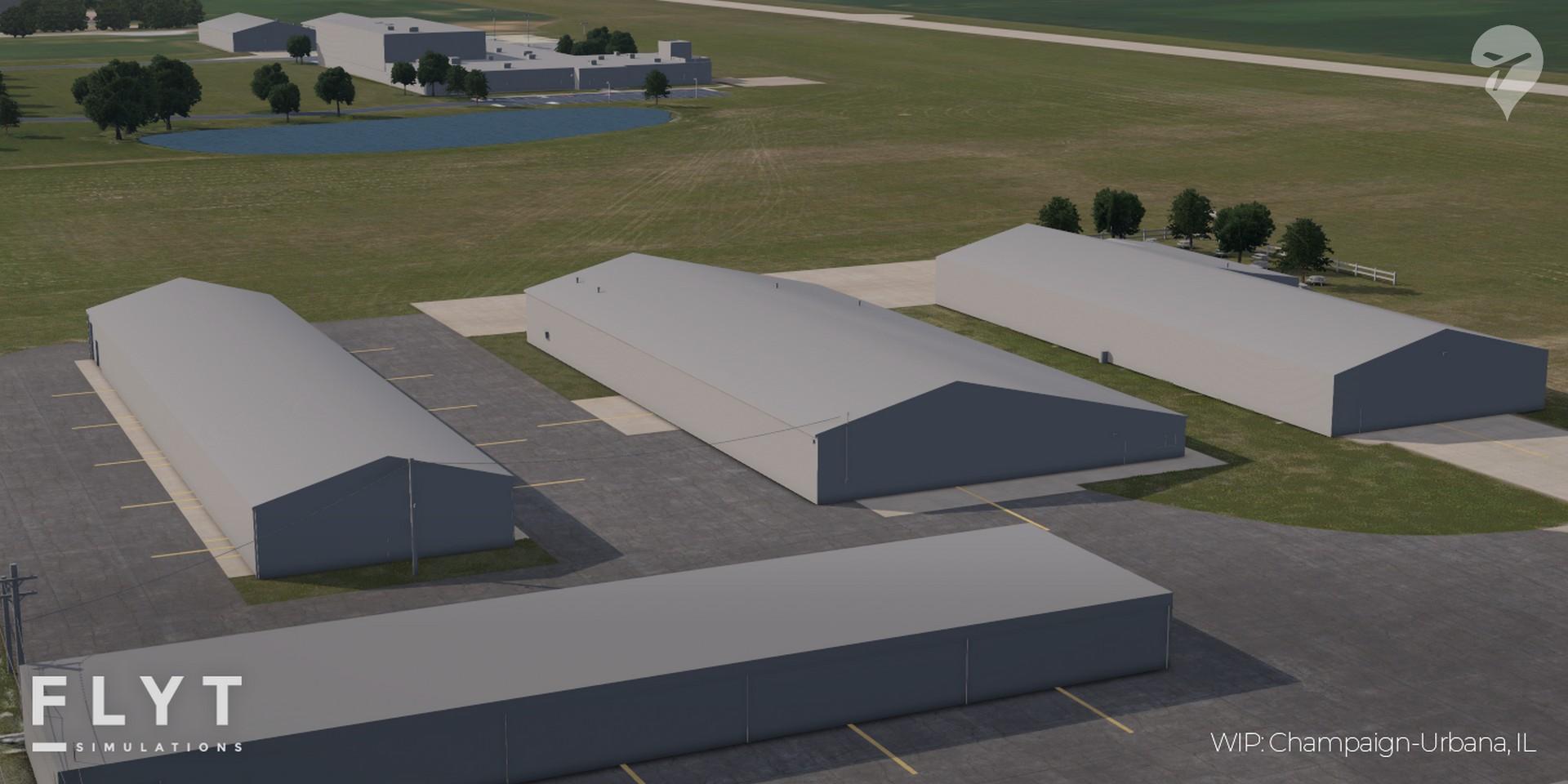 FLYT Simulations University Of Illinois Willard Airport 06