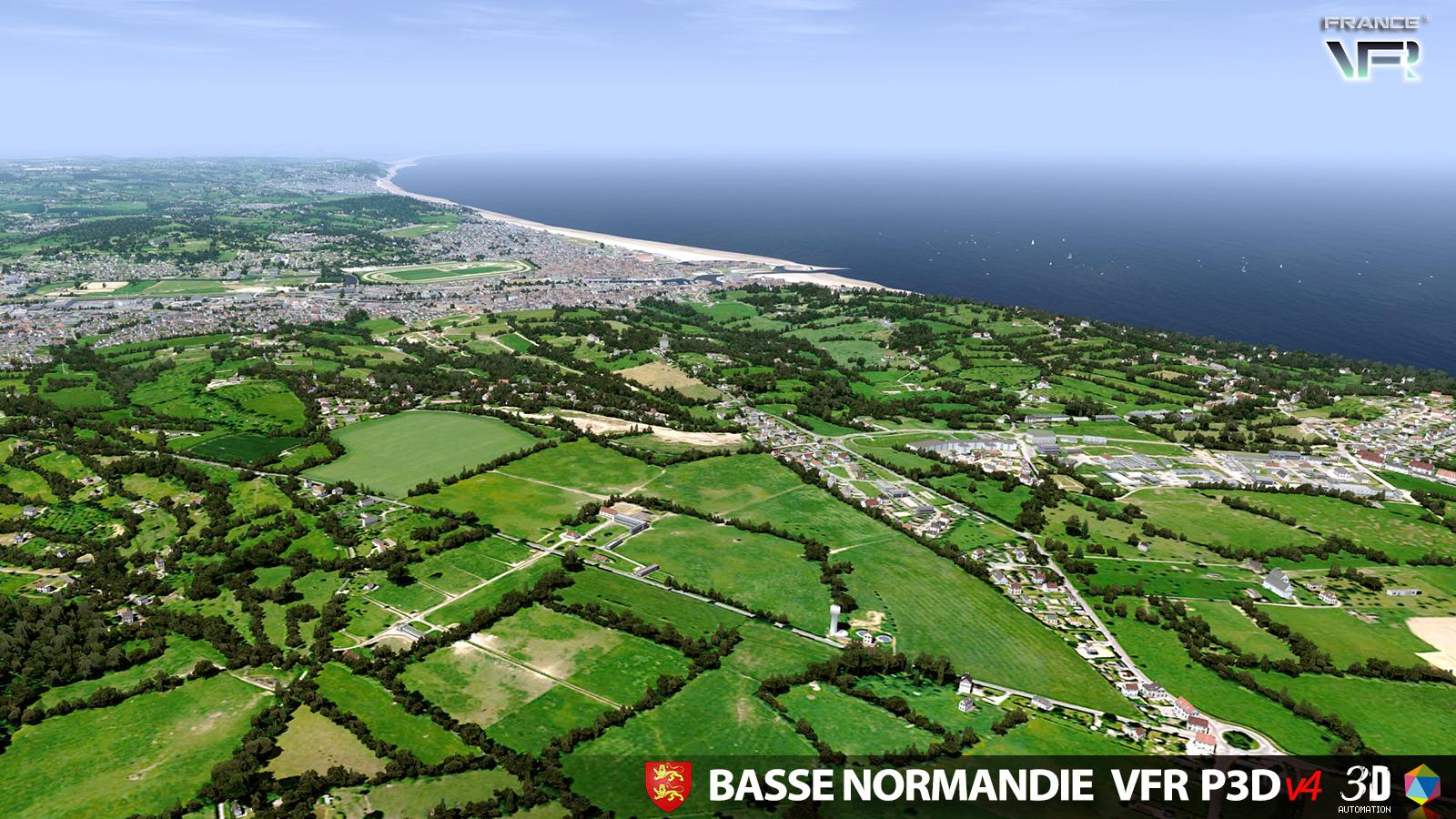 Lower Normandy France VFR P3D V4 (9)