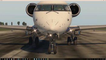SSG CRJ 700 Gear Adjustments