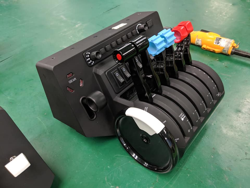 Honeycomb Aero Throttle Set (1)
