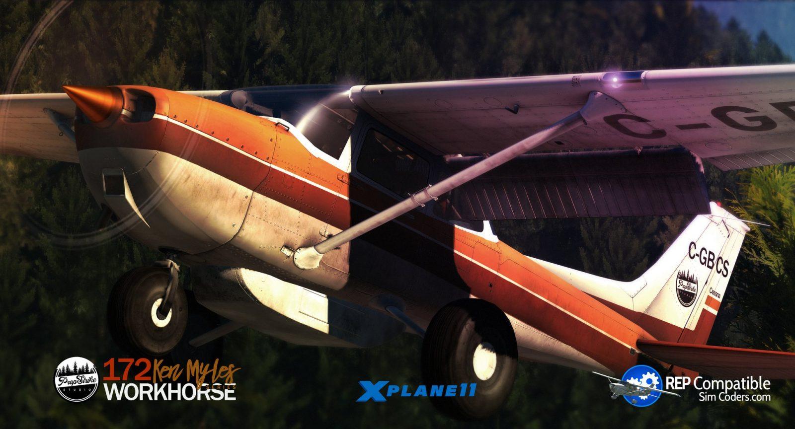 PropStrike Studio Announces X-Plane Cessna 172 Mod – FSElite